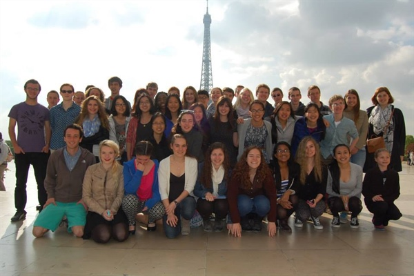 HYSO Tours France and Normandy 2013-14