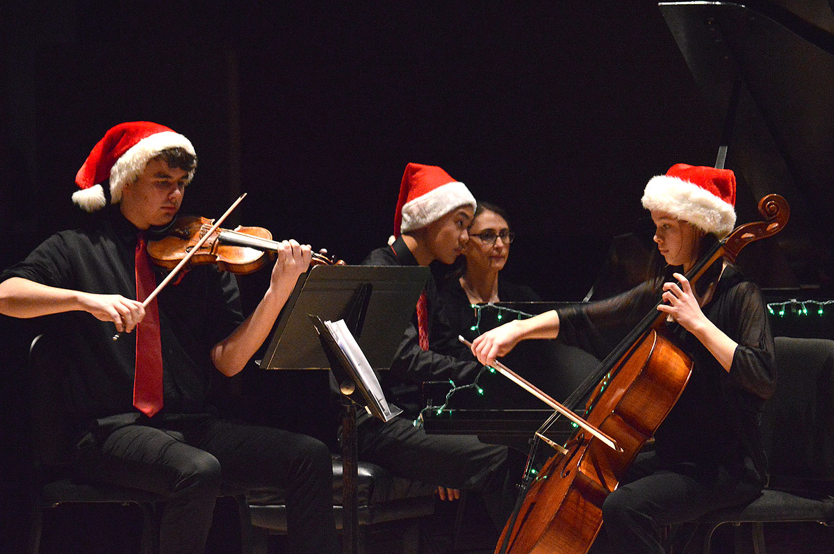 Holiday Ensembles Prism Concert