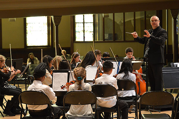 Sinfonia & Concertino Strings in Concert
