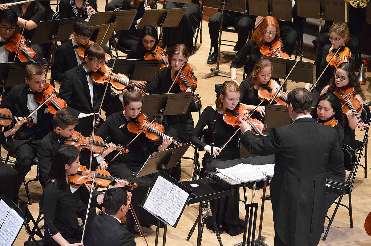 Hochstein Youth Symphony Orchestra - Fall Concert