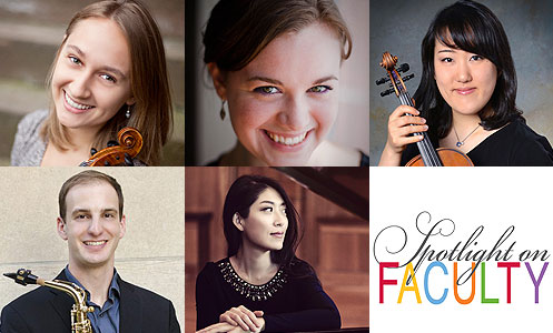 Spotlight on Faculty – A Century of Chamber Music