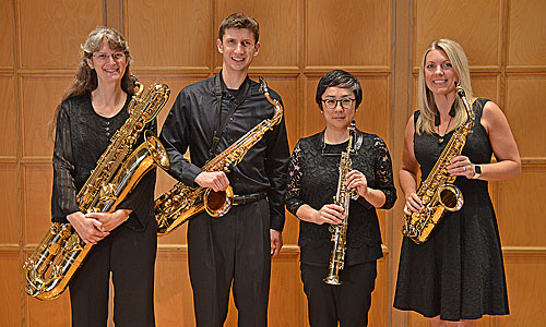 Spotlight on Faculty – Vertex Saxophone Quartet: Winter Thoughts