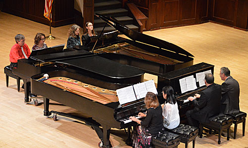 Spotlight on Faculty – Celebration of the Piano