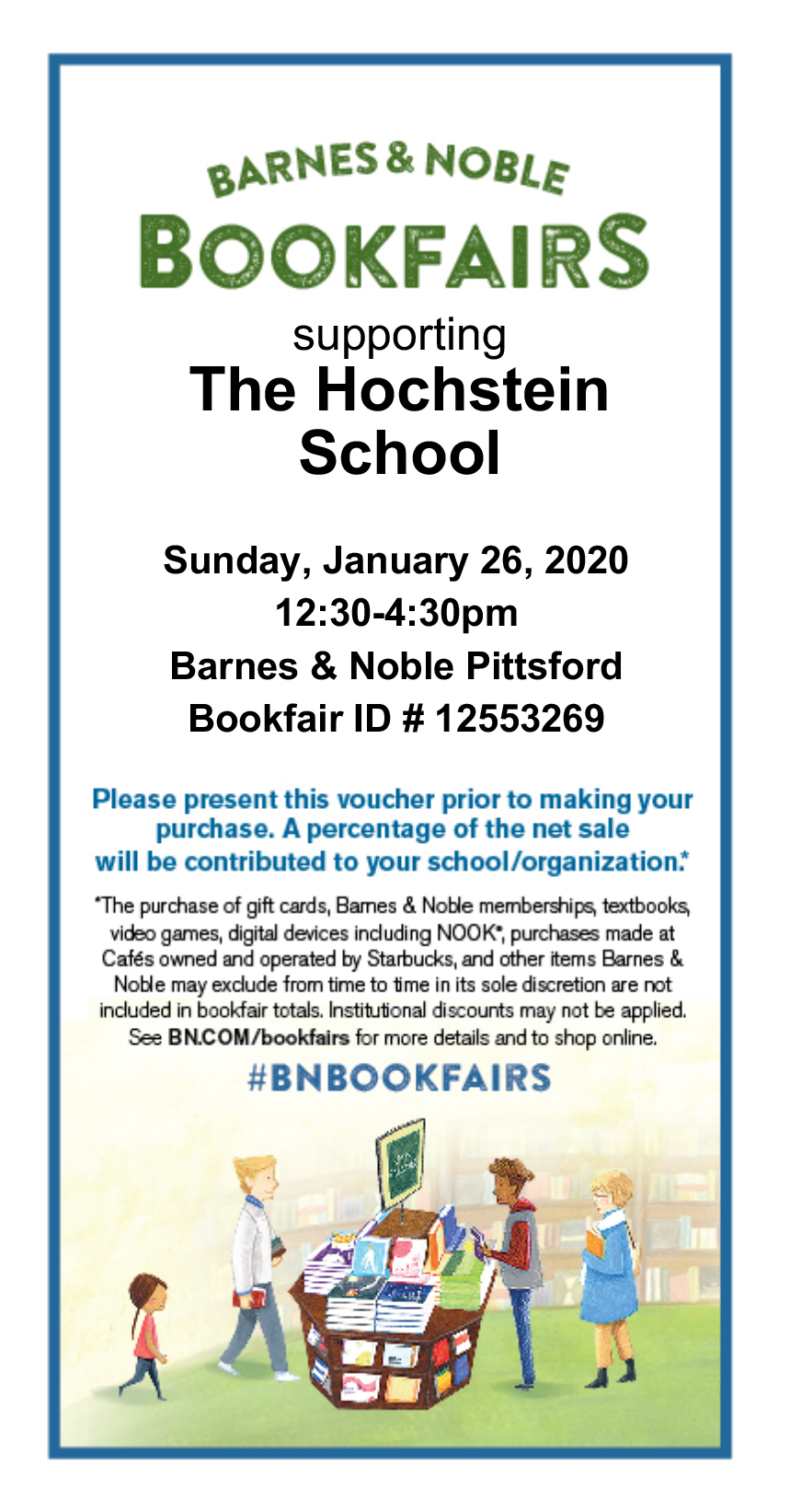 Barnes 2020 bookfair...