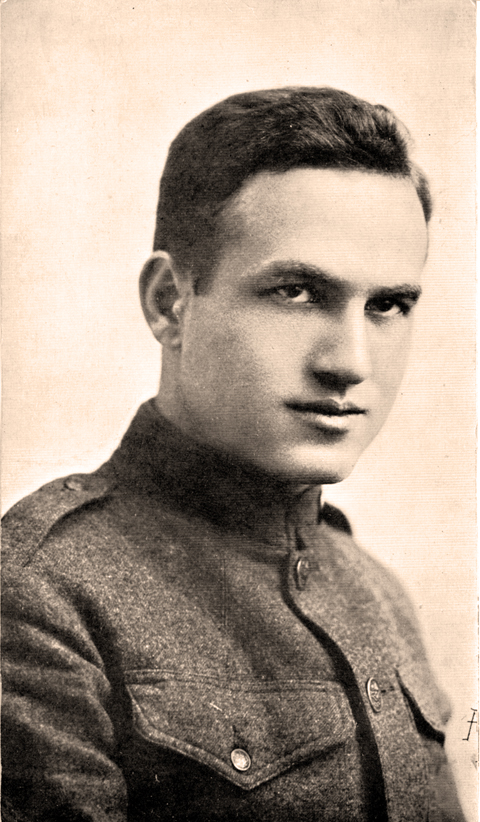 David Hochstein in Uniform